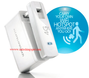 How to unlock Alcatel One Touch Link W800 LTE WiFi Dongle